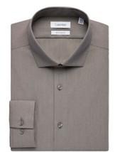 Men's ck Calvin Klein Slim Fit Non Iron Dress Shirt  - $19.80
