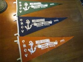 sailing yachting felt pennants Melbourne to Port Fairy Australia ocean r... - $35.61