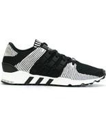 NEW $160 Adidas Originals EQT Support RF Primeknit Sneakers Black White ... - $65.97