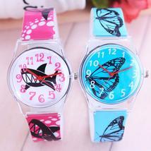 2018 women girls fashion butterfly shark quartz watches students persona... - $17.87 CAD