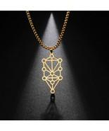 Geometric Sephirot Kabbalah Tree of Life Necklaces Vintage DIY Amulet Je... - $8.59+