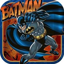 "Batman Heroes and Villains Square Plates, 8-count, 9"" x 9"" - $2.03"
