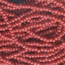 Primary image for 11/0 Seed Bead Rocaille Half Hank Red 6