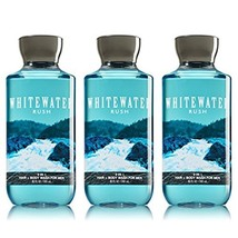 Lot of 3 Bath & Body Works Whitewater Rush 2 in 1 Hair & Body Wash for M... - $28.07