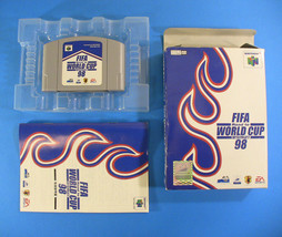 FIFA Road to World Cup 98 ~ Complete in Box CIB (Nintendo 64 N64, 1996) ... - $11.28