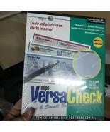 Mips Versa Check Home & Small Business Software CD-ROM 150 Blank Checks NIB - $24.74