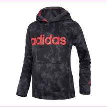 Adidas Boy's Ultimate Fleece Pullover Hoodie, Black Camo, Size S (8 ) - $20.90