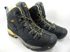 "Keen Pittsburgh 6"" Size 13 2E WIDE EU 47 Men's WP Steel Toe Work Boots 1007023EE"