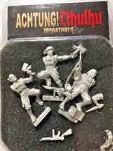 Achtung! Cthulhu Miniatures - 28mm - Pathfinder Demonhunters - Modiphius... - $15.95