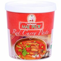 Thai Red Curry Paste 14 Oz Jar By Mae Ploy Just Add Coconut Milk, aromat... - $6.50