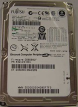 "80GB SATA 2.5"" Hard Drive Fujitsu MHW2080BH Tested Free USA Ship Our Drives Work"