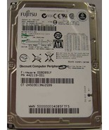 "80GB SATA 2.5"" Hard Drive Fujitsu MHW2080BH Tested Free USA Ship Our Dri... - $13.45"