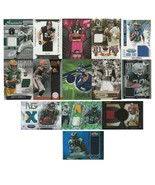14 Card Lot - NFL Game Worn JERSEY Football Cards 2012-16 - $27.71