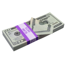 $2,000 New Series Full Print Prop Money Stack - $14.99