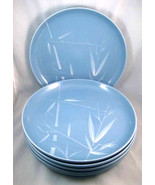 Vintage Winfield China Blue Pacific Dinner Plat... - $75.00