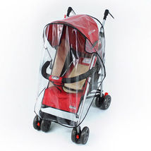 Baby Waterproof Stroller Umbrella Weather Shield Rain Wind Snow Cover Cl... - $11.49