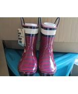 Toddler girls Kamik ahoy Rubber Rain Boot waterproof size 11 New - $20.00