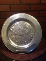 "Boston Tea Party 200TH Anniversary Pewter Plate by Wilton Armetale - 11"" - $15.50"