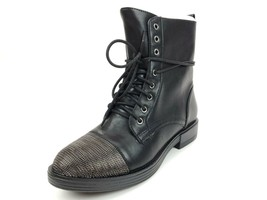 Report Women's Xander Combat Boot Chainmail Cap Toe Size 8 M - $46.71
