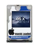 macOS Mac OS X 10.14 Mojave Preloaded on Sata HDD - $14.99+