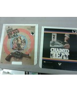 Factory Sealed CED Videodisc Chained Heat & Big Bad Mama (dd) (c22) - $46.74