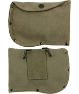 """Olive Drab Canvas 6"""" Axe Sheath with Belt Loop - $7.29"""