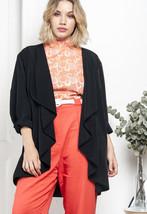 Open front cardigan - 90s vintage blazer - $34.68