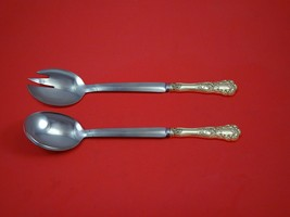 "Buttercup by Gorham Sterling Silver Salad Serving Set 2pc Modern Custom 10 1/2"" - $149.00"