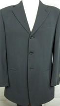 NEW $795 Giorgio Armani Le Collezioni Saks Dark Blue & Black Sport Coat 40R - $166.37