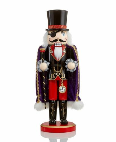 Holiday Lane Wood Dosselmeyer Statue Nutcracker Suite 14""
