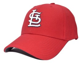 St. Louis Cardinals Twins Enterprise MLB Team Logo Adjustable Baseball Cap Hat - $17.09
