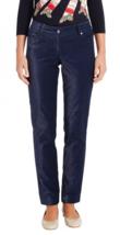 J McLaughlin Womens Pants 6 Felicity Velveteen F0104001022 Jeans Blue Sl... - $59.35