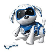 Bix Robot Toy Dog, Electronic Pet Dog Interactive Puppy Respond To Touch... - $46.44