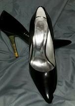 Jessica Simpson Black Patent Vanity High Heels 7 1/2 B - $16.82