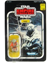 Vintage Kenner Star Wars ESB Yoda Mint on Card Clear Bubble UNP MOC AFA It  - $499.99