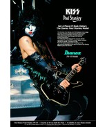 KISS Paul Stanley 24 x 36 Custom Ibanez PS10 Poster - Guitars Classic Ro... - $50.00