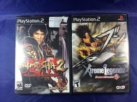 Onimusha 2, Xtreme Legends PS2 Lot Of 2 - $10.39