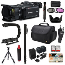 Canon XA35 HD Professional Video Camcorder Action Kit XGrip Bag Extra Ba... - $2,599.25