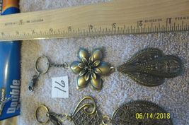 # purse jewelry bronze color keychain backpack  dangle charms #16 lot of 3 image 3