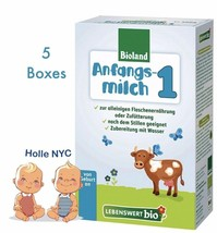 Holle Lebenswert Stage 1 Organic Baby Formula 10 Boxes 500g Free Shipping - $167.95