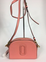 NWT Marc Jacobs Shutter Camera Leather Crossbody Bag ~ Peony ~ M0009474 - $199.00
