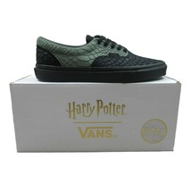Vans X Harry Potter Slytherin Era Green Black Snake Skin Mens Size 6.5 Womens 8 - $143.50