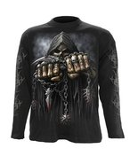 Spiral Direct Clothing UK Men's Game Over Longsleeved T-Shirt XL 45 Ches... - $19.26