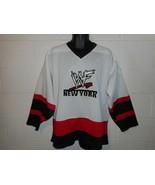 Vintage 90s 1999 WWF WWE New York Hockey Jersey Medium - $99.99