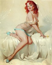 Art Print Poster 1960's Elvgren Pin-Up Poster Bedside Manner - $3.55+