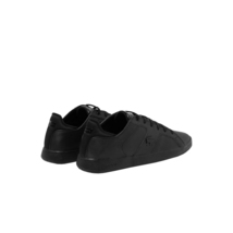 Lacoste Men's Casual Novas 120 3 SMA Athletic Shoes Leather Black Sneaker image 3