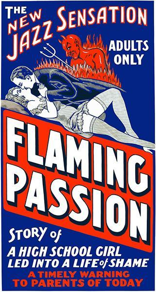 Primary image for Flaming Passion - 1923 - Movie Poster