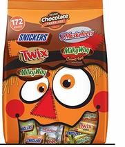 Mars Chocolate Favorites Harvest Variety Pack, 172 ct.Net Wt 52 Oz - $21.41