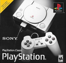 Modded Authentic Sony PlayStation Classic Console 64GB Flash Drive with ... - $178.98 CAD