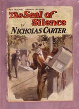 NEW MAGNET LIBRARY-#1068-SEAL OF SILENCE-NICK CARTER FR - $31.04